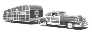 RV Shoreline Tandem Town and Country (1948)