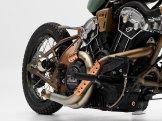 BikinMotor Indian Motorcycle Chopper Hardtail2