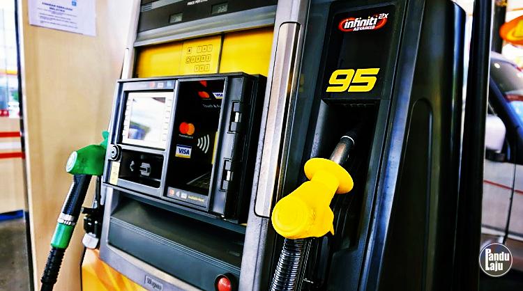 Harga Petrol RON95 & RON97 Turun Lagi 8 Sen, Diesel 10 Sen Mulai Esok (04/04/20)