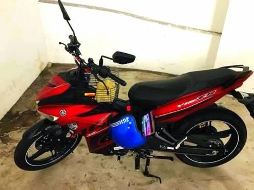 Kepala Yamaha Y15ZR Dicuri