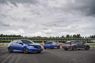Honda Civic facelift 2019 2