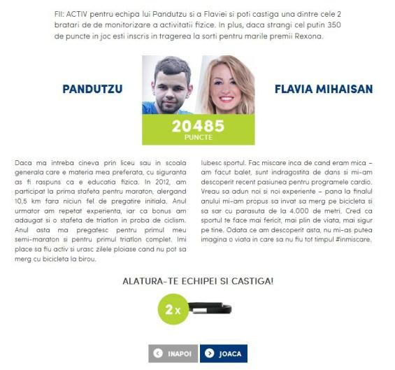 Pandutzu si Flavia Mihaisan