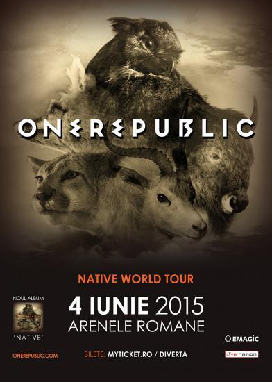 OneRepublic - Arenele Romane