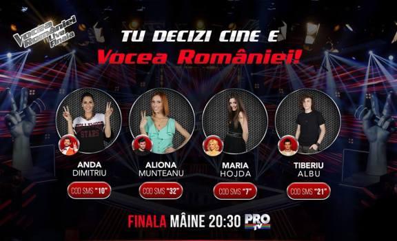 Vot- Finala - Vocea Romaniei