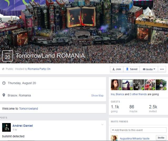 TomorrowLand Romania