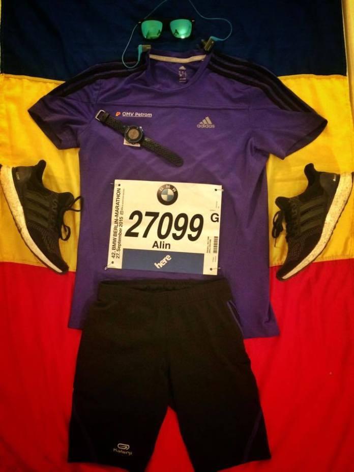 Echipament - Berlin Marathon 2015