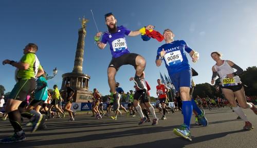 Pandtzu la Berlin Marathon