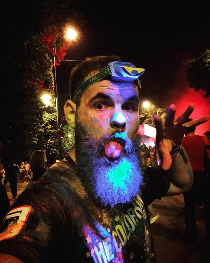 The Color Run by Night