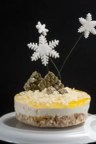 Cheesecake senza glutine agli agrumi