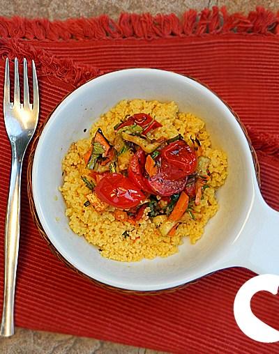 Cous cous senza glutine di mais vegetariano