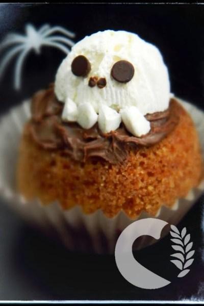 Tortine senza glutine di Halloween