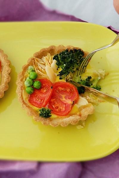 Crostatine salate senza glutine