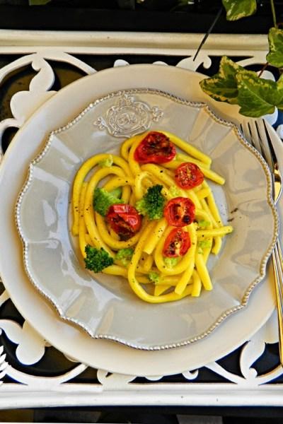 Pasta fresca: Pici allo zafferano senza glutine
