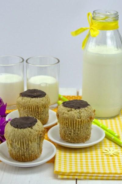 Muffin senza glutine nè lievito al grano saraceno