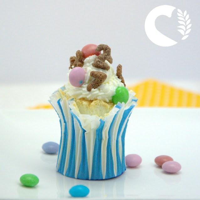 Angel food cupcake senza glutine