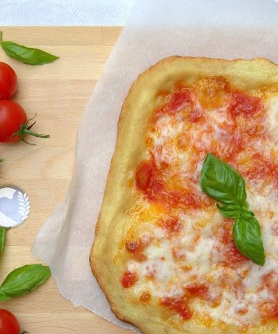 Pizza senza glutine in teglia con il metodo water roux