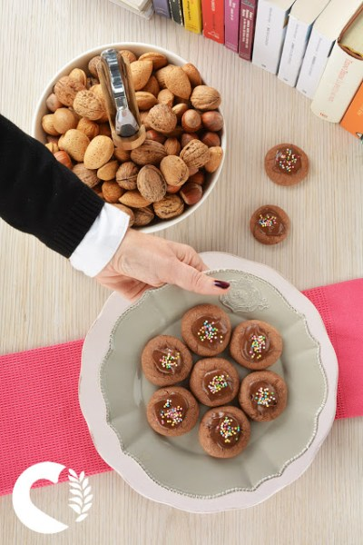 Thumbprint o Nutellotti senza glutine