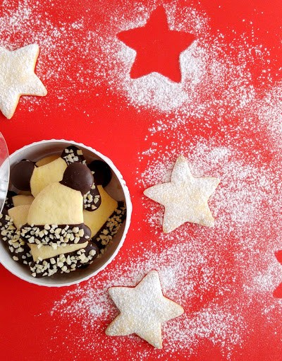 Biscotti di frolla senza glutine (versione di Natale!)