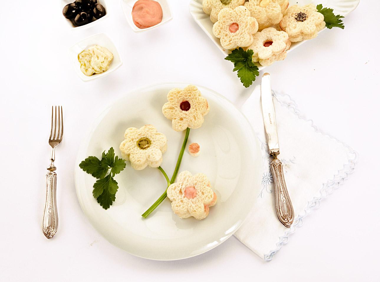 Sandwich fiore, senza glutine