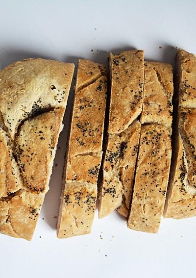 Filoncino di pane con farina Revolution
