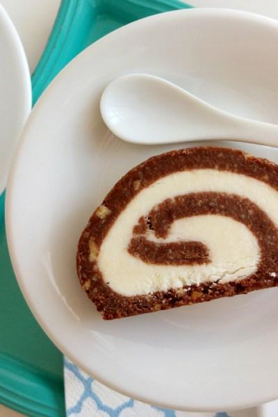 Rotolo cacao e cocco: senza glutine e senza cottura