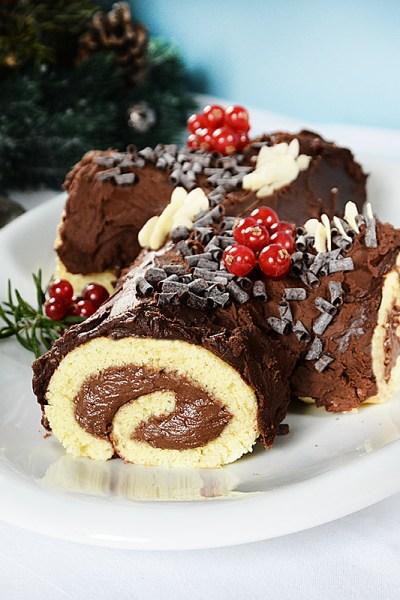 Tronchetto di Natale o Bouche de Noel senza glutine