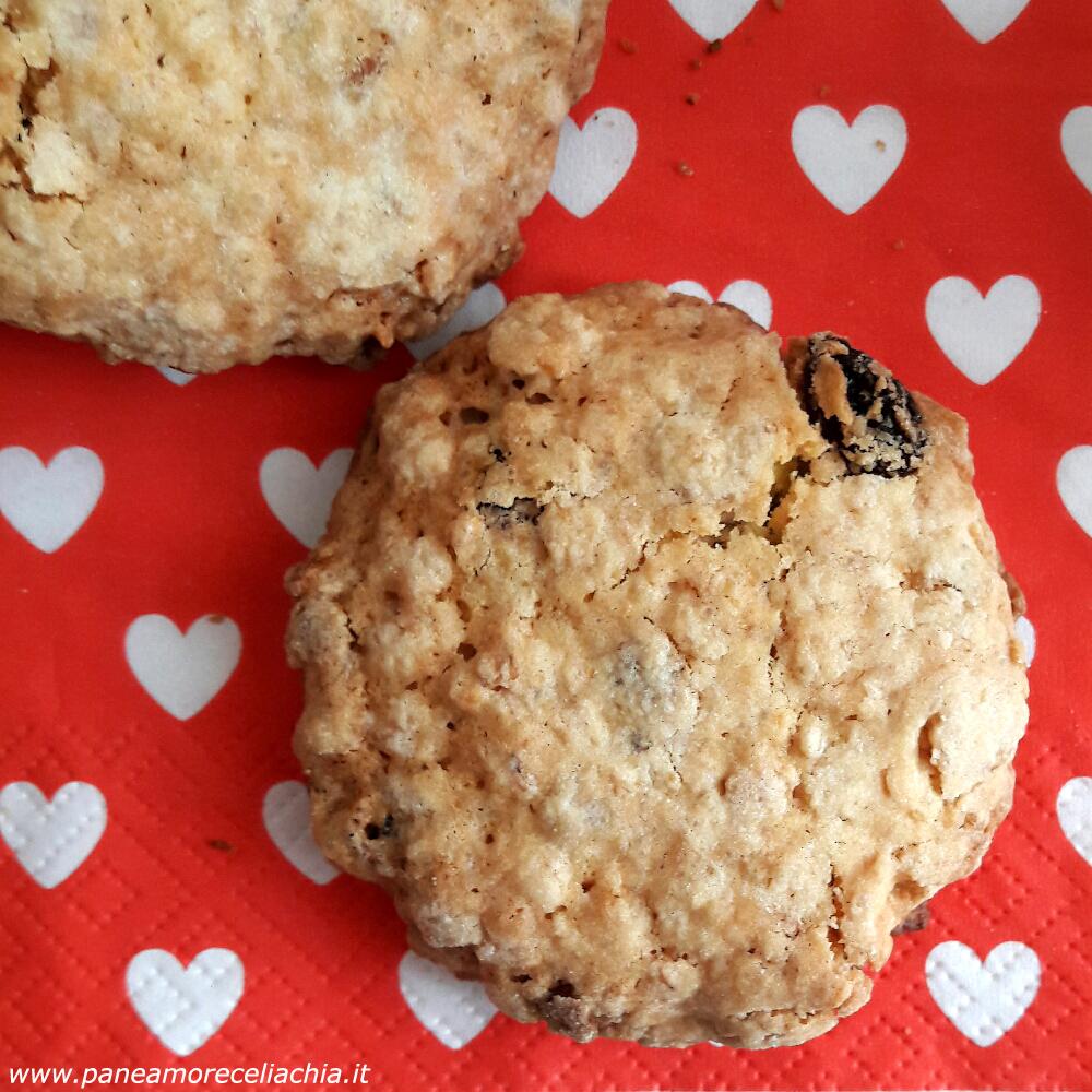 Biscotti senza glutine con muesli