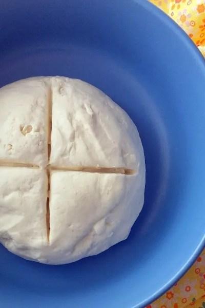 Impasto base per pizza senza glutine