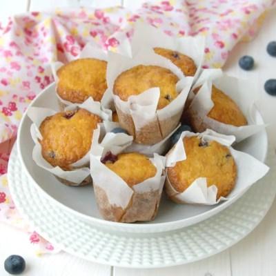 Muffin senza glutine ai mirtilli