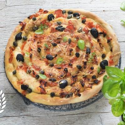 Pizza spirale senza glutine