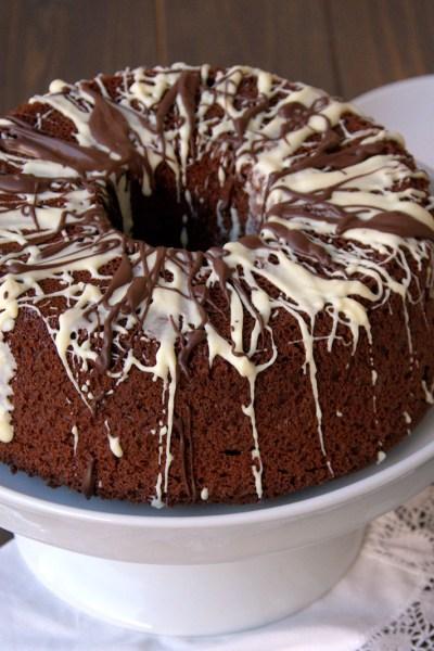 Chiffon cake senza glutine al cacao
