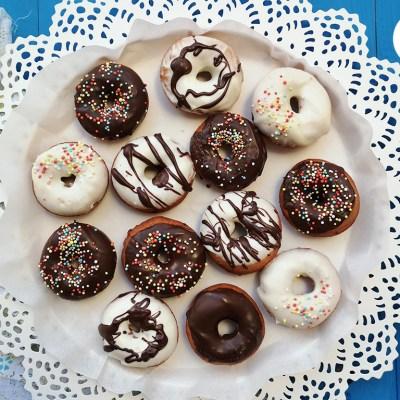 Donuts senza glutine, le ciambelline fritte perfette