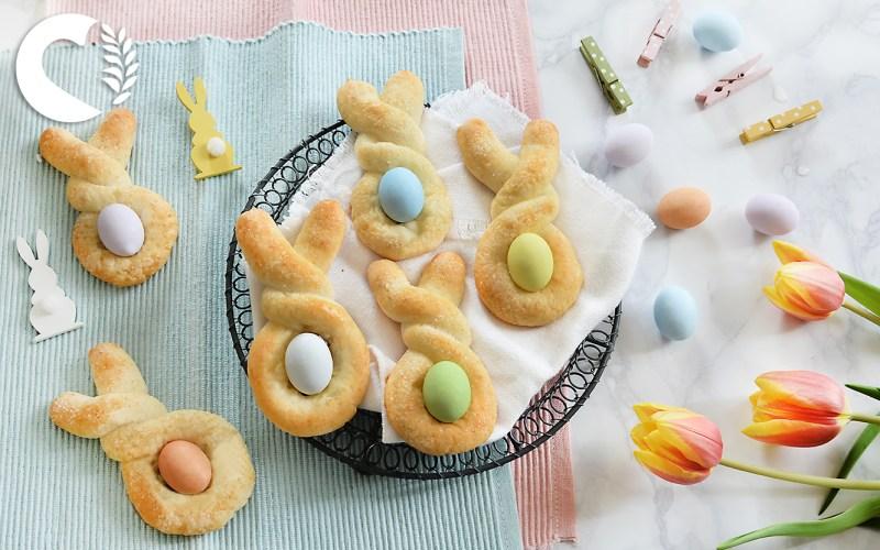 Biscotti coniglietto di Pasqua