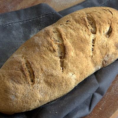 Filone di pane senza glutine