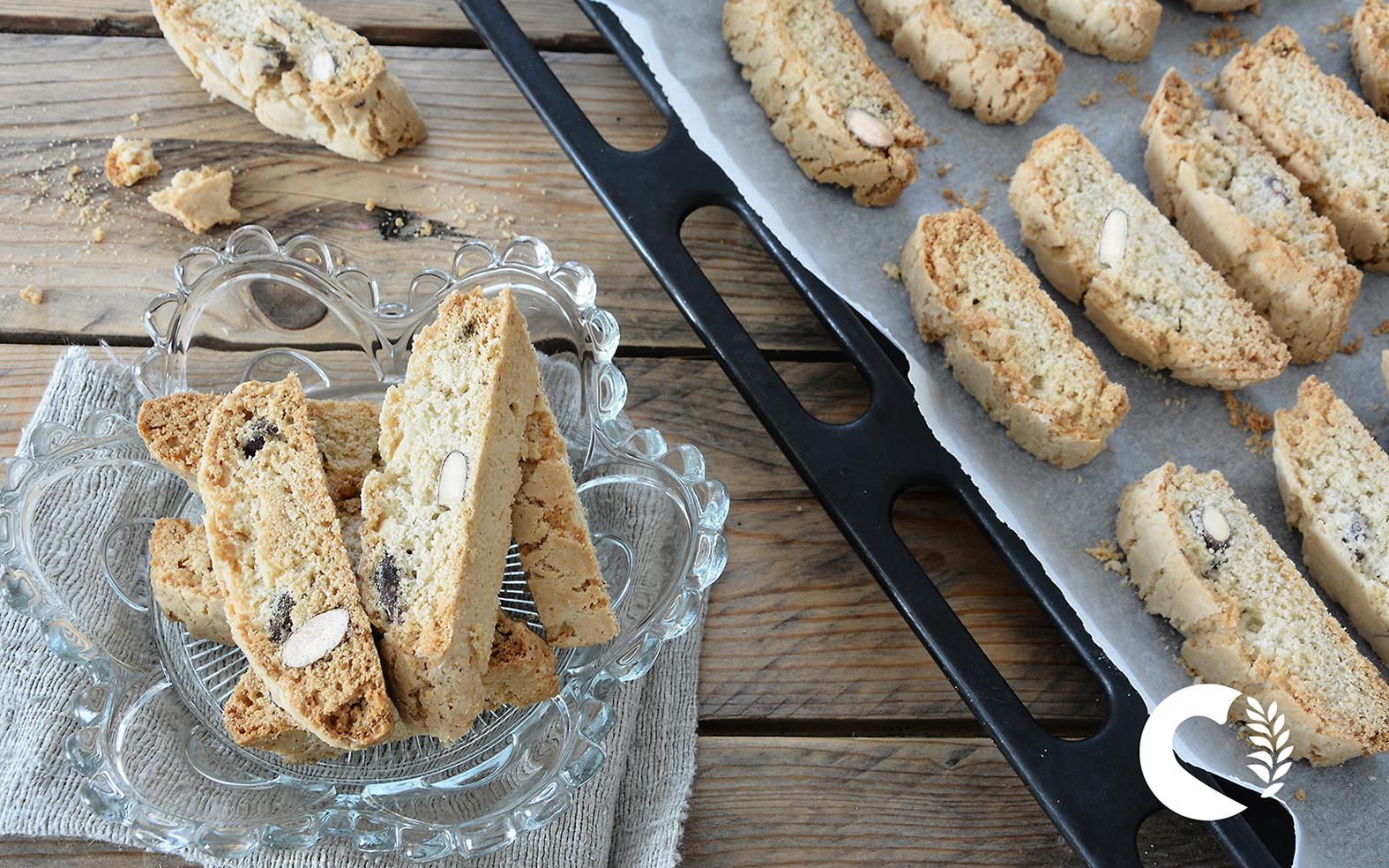 Cantucci toscani senza glutine e senza lievito