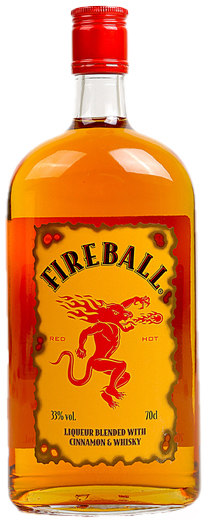 Fireball Ml 50 Whiskey Cinnamon