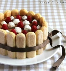 charlotte al cioccolato e banana