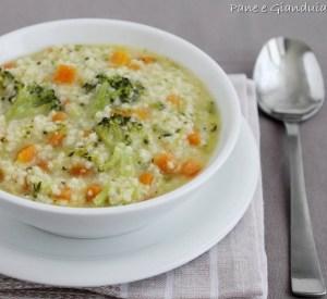 Zuppa di miglio e verdure