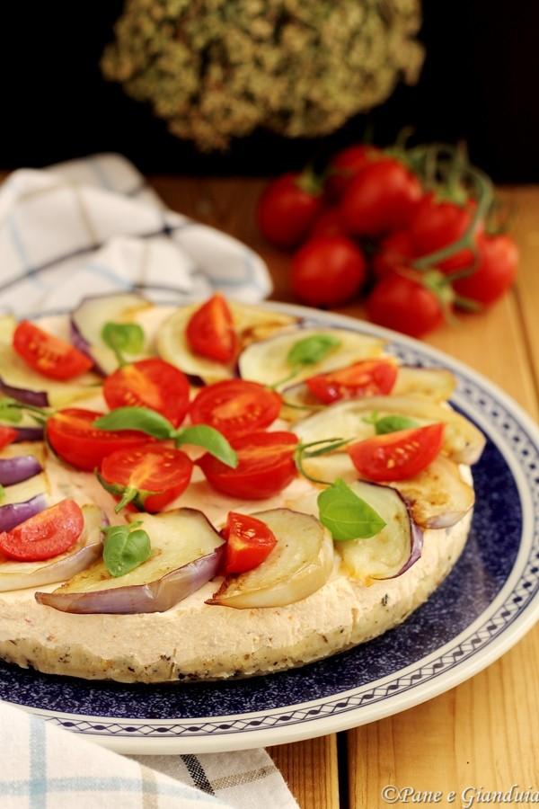 Calabria Cheesecake salata
