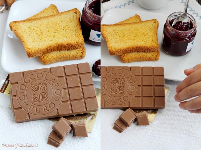 Cioccolato puro gianduia tastè