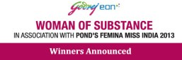 Winner in Godrej and Femina's Women of Substance Contest