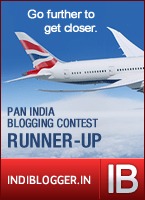 Runner Up in British Airways' 'Go Further to get Closer' contest