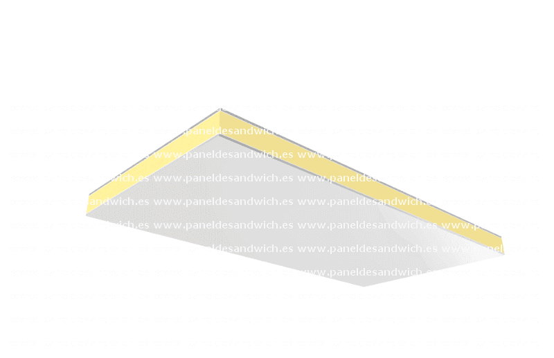 Panel Sandwich Falso Techo Aluminio PurAl
