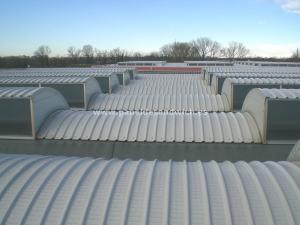Chapas para tejados