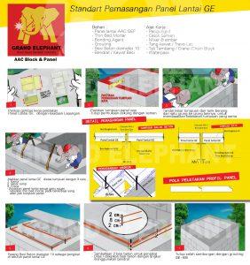 pemasangan, pemasangan panel lantai, pemasangan panel lantai grand elephant