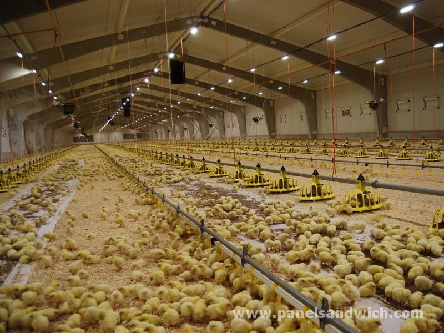 Construccion de granjas y explotaciones ganaderas con Agropanel