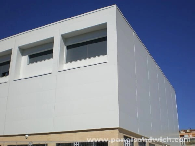 Panel Sandwich Fachada Arquitectonico