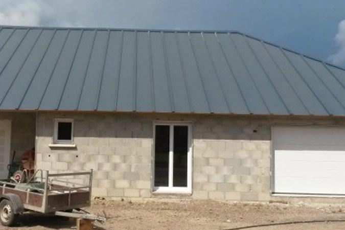 Acabado interior blanco del Panel Sandwich Tapajuntas