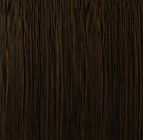 Reconstituted Quartered Ebony Wood Veneer