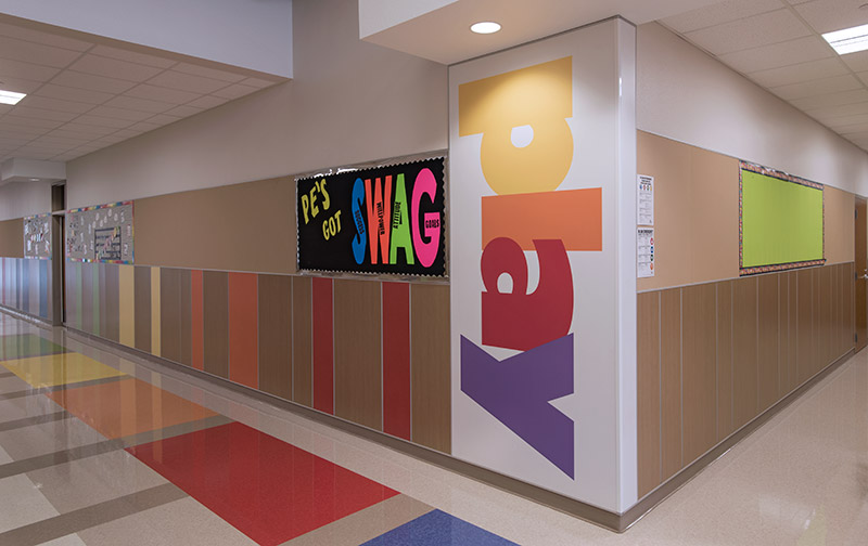 Carver Elementary School Wall Panel System